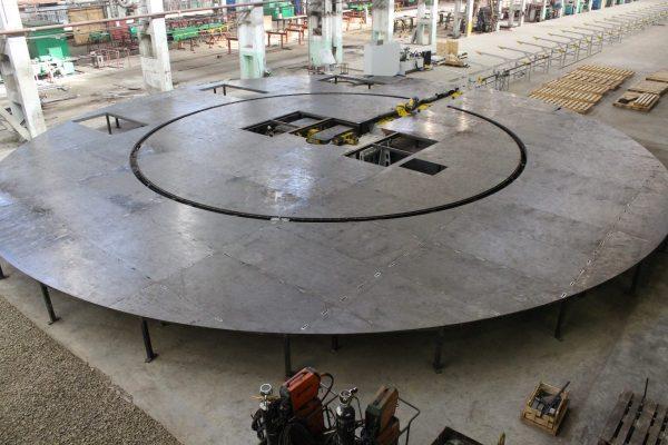 2019 – Tube Bending Table Frame